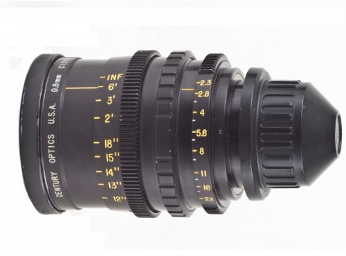 KINOPTIK CENTURY 9.8mm T2.3 Lens