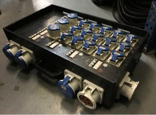 Distribution Box 600 Amp (2x125A, 9x63A, 3x32A)