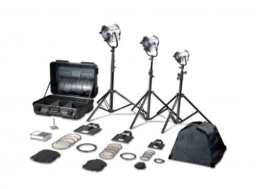 Tungsten Fresnel Junior S3 Kit