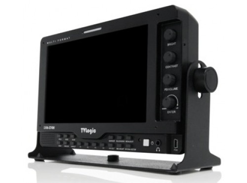 "TV-Logic 7"" LCD Multi-format AC/DC"