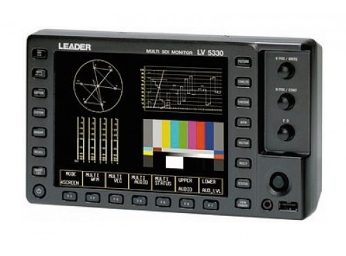 "LEADER LV-5330 6.5"" HD / SD-SDI Monitor"