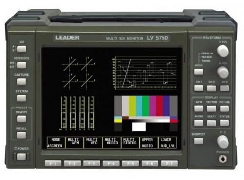 "LEADER LV-5750 6"" HD / SD-SDI Monitor"