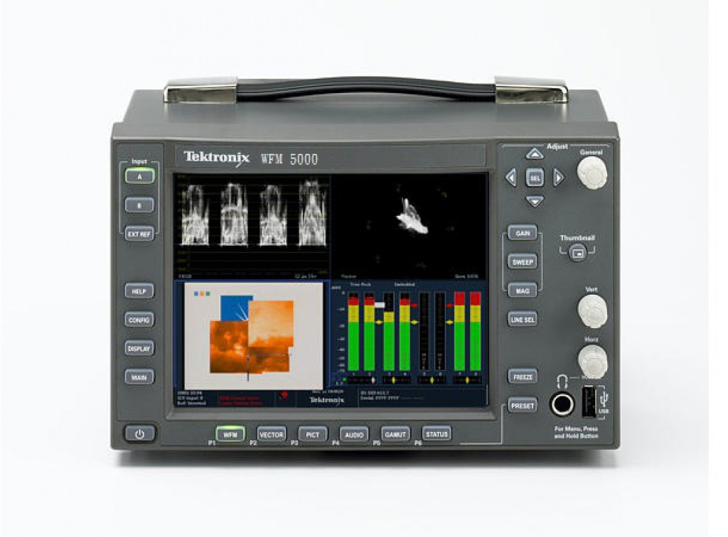 "TEKTRONIX WFM 5000 6"" HD / SD-SDI Monitor"