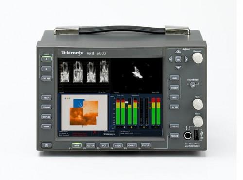 "TEKTRONIX WFM 5000 6"" HD / SD-SDI Monitor"